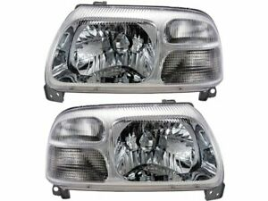 For 1999-2004 Suzuki Vitara Headlight Assembly Set 88171ZQ 2000 2001 2002 2003