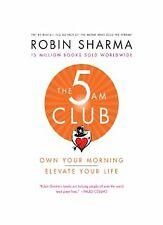 The 5 AM Club  Robin sharma  libro book