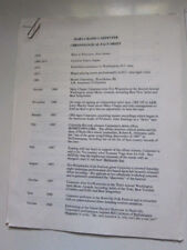 MARY CHAPIN CARPENTER Press kit  10 pgs