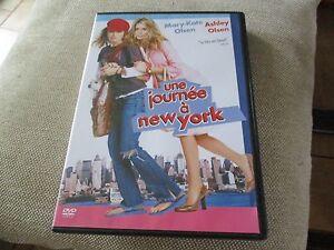 "DVD ""UNE JOURNEE A NEW-YORK"" Mary-Kate & Ashley OLSEN"