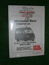 MERCEDES SPRINTER CDi VAN MANUAL 416 413 411 316 313 311 308 216 213 + 2000-2006