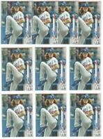 x10 DUSTIN MAY 2020 Topps Baseball #235 Rookie Card RC logo lot/set Dodgers Mint