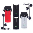 2x Bluetooth Interphone 2 voies Casque de Moto Helmet Intercom Wireles 1000m NFC
