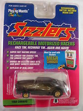 1968 Camaro Classic Race Car Black 1996 Playing Mantis Sizzlers New PKG