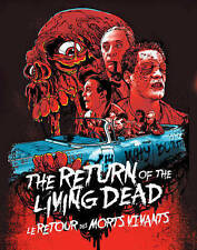 Return of the Living Dead (Blu-ray Disc, 2014, Canadian with Faceplate)