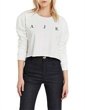 NWT Aje Womens Lexi Jumper Sweater Crewneck Sweatshirt Pullover Tops Size XXS-M