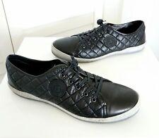 JOSEF SEIBEL 'The European Comfort Shoe' US11/UK10 Black Quilted Leather Sneaker