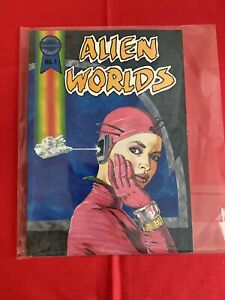 Alien Worlds #1 Blackthorne Publishing Incorperated Comic Book Sci-Fi