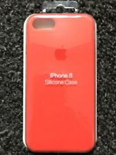 Apple iPhone 7/8 Silicon Original Apple Case Genuine Apple Cover - Spicy Orange