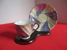 Richard Demitasse Cup And Saucer Porcelain Made in Japan Art Deco