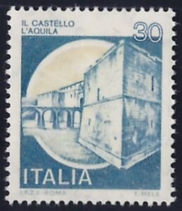 REPUBBLICA1981 - 30 Lire CASTELLI VARIETA' n. 1569Da RARO!!Cert.FERRARIO € 2.350