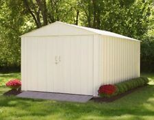 Commander 10' x 10' Steel Shed