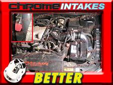 CF BLACK RED 97 98 99-03 CHEVY MALIBU BASE/LS 3.1 3.1L V6 COLD AIR INTAKE 2P