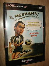 DVD DEPORTE MOVIES N°10 EL PRESIDENTE DE BORGOROSSO FÚTBOL CLUB ALBERTO SORDO