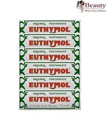 Euthymol Original Toothpaste 75ml (Case of 6)(Expiry- 2018)