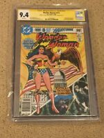 Wonder Woman 272 CGC 9.4 White Pages SS Gerry Conway (Classic Cover!!) + magnet