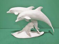 Kaiser Porcelain Figurine Pair of Dolphins #509