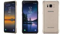 Samsung Galaxy S8 Active G892A GSM Unlocked 64GB  GRAY&GOLD&BLUE