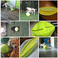 64mm Big Giant Pet Dog Puppy Tennis Ball Thrower Chucker Launcher Play Toy Balls
