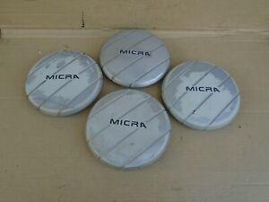 1985 85 Nissan Micra K10 CENTER CAP SET wheel trim hubcap hub