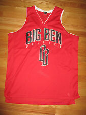 """""""BIG BEN"""" BEN WALLACE No. 3 DETROIT PISTONS (XL) Jersey RED"""