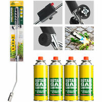 Weed Killer Remover Burner Wand Butane Gas Blowtorch Garden Patio Stone Tiles