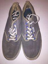 Vintage Vans Old Skool Shoes BLUE WHITE Women's Size 9.5 Men's Size 7