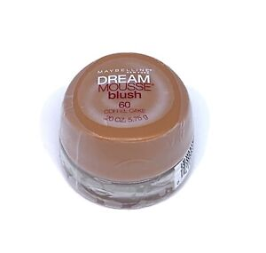 Maybelline New York Dream Mousse Blush 60 Coffee Cake Discontinued .20 Oz SEALED
