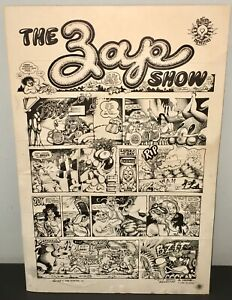 1968 ZAP SHOW #1 Apex Art Show Poster - Crumb+Rick Griffin+S Clay Wilson+Moscoso
