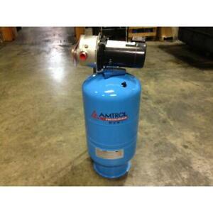 AMTROL RP-15 AMTROL PRESSURISER WATER PRESSURE BOOSTER SYSTEM W/CP CONTROL