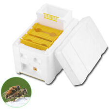 FM_ NE_ DV_ Home Bee Hive Harvest Beekeeping Box Pollination Honeycomb Container
