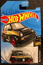 Hot Wheels Black '85 Honda City Turbo II Diecast Nightburnerz  2/10 New 2017