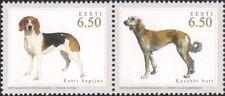 Estonia 2005 Cani da Caccia/Animali/NATURA/lavoro Dogs 2 V PR (n18359)