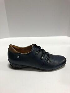 Pikolinos Venezia Womens Bootie Blue Leather EUR37 US7 M