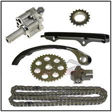 Timing Chain Kit & Oil Pump Fits Nissan 240SX Axxess 2.4L KA24E 9-4163S W/ Gears