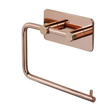 Copper Toilet Roll Holder Stick on Self Adhesive Pad