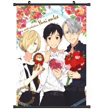 New Anime Yuri On Ice Yuri!!! on Ice Victor Poster Wall Scroll cosplay 2979