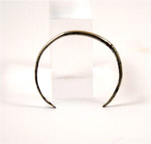 Iron age a  Celtic silver  bracelet