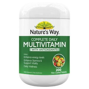 Nature's Way-Complete Daily Multivitamin 200 Tablets