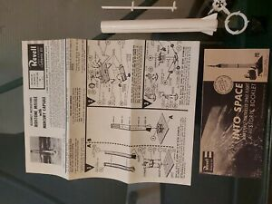 Revell Redstone Missile With Mercury Capsule 1/110 Scale Model Kit