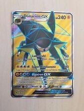 Pokemon Donarion GX FULL ART Sonne & Mond 2  Stunde der Wächter 134/145 deutsch!