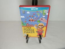 Super Mario Maker Nintendo Wii U Game Complete Tested Working