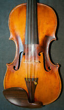 Old Antique Moustached German Violin lab. David Techler 1703 – Incredible Sound