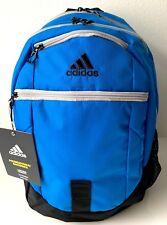 Adidas Foundation IV Backpack Work School Travel Sport Unisex Bag Blue Black NWT