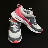 FAB girls 'NIKE' AIR MAX THEA Trainers Size UK 4 (GREY PINK)