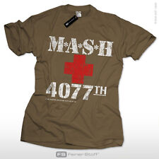 MASH M.A.S.H. M*A*S*H US Army 4077th Kult Fan Fun T-Shirt S-3XL