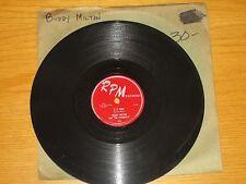 "R&B / DOO WOP GROUP 78 RPM - BUDDY MILTON - RPM 419 -""O O WAH"" + ""I'M THE CHILD"""