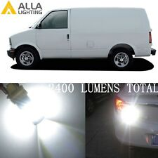 Alla Lighting 6000K 39-LED Back-up Reverse Light 1156 White Bulbs Lamp for Chevy