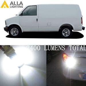 Alla Lighting 6000K 39-LED Back-up Reverse Light 1156 White Bulbs Lamp for Chevy