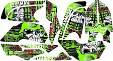 YAMAHA RAPTOR 660R full graphics kit green
